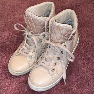 Aldo blush/nude High Top sneakers